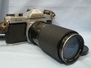 pentax with zoom lens 1993